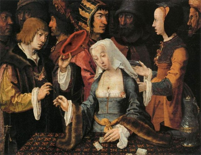 Геннадий Кацов СЛОВОСФЕРА №102 Лукас ван Лейден, «Гадалка» (1508-1510)