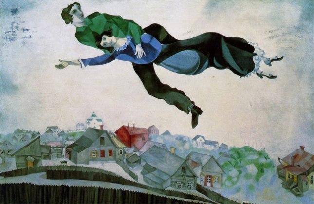 Геннадий Кацов СЛОВОСФЕРА №85 Марк Шагал, «Над городом» (1918)