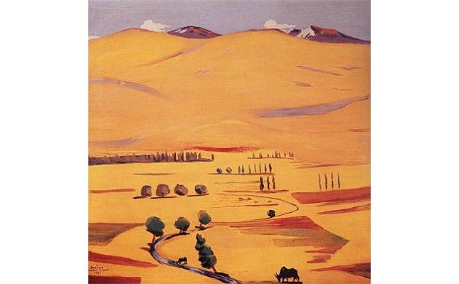 Геннадий Кацов СЛОВОСФЕРА №40 Мартирос Сарьян, «Гегамские горы» (1926)