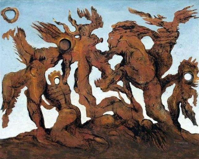 Геннадий Кацов СЛОВОСФЕРА №144 Макс Эрнст, «Орда» (1927)