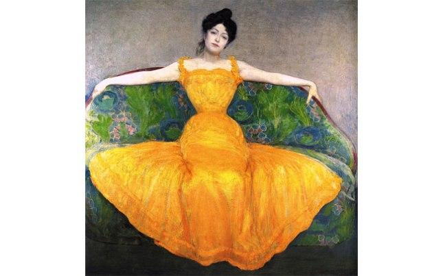 Геннадий Кацов СЛОВОСФЕРА  №101 Макс Курцвайль, «Женщина в желтом платье» (1899)