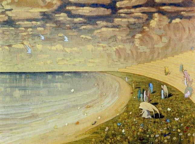 Геннадий Кацов СЛОВОСФЕРА №95 Микалоюс Константинас Чюрленис, «Рай» (1909)