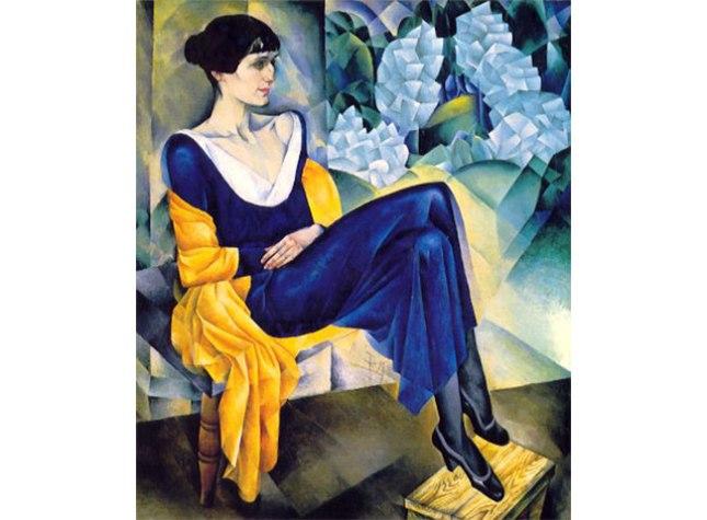 Геннадий Кацов СЛОВОСФЕРА №59 Натан Альтман, «Портрет Анны Ахматовой» (1914)