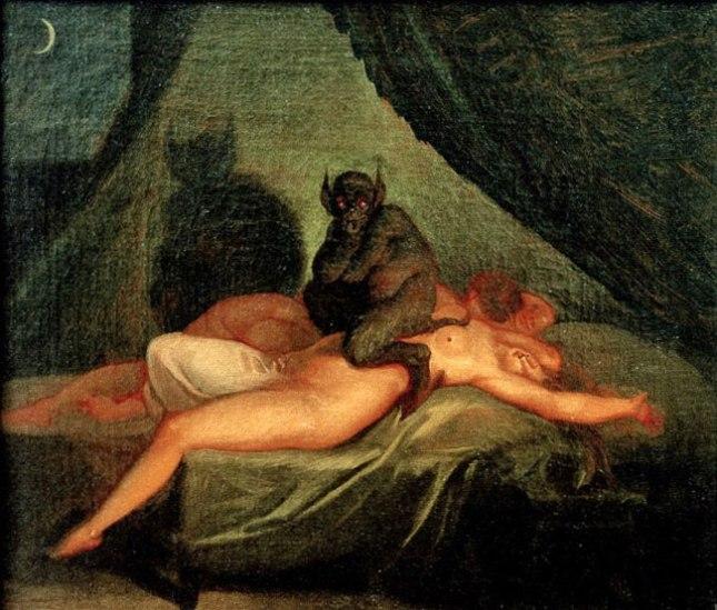 Геннадий Кацов СЛОВОСФЕРА №140 Николай Абрагам Абильдгор, «Ночной кошмар» (1800)