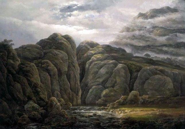 Геннадий Кацов СЛОВОСФЕРА №141 Иоганн Кристиан Даль, «Норвежский горный ландшафт» (1819)