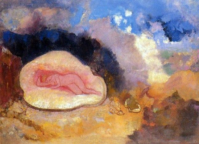 Геннадий Кацов СЛОВОСФЕРА №110 Одилон Редон, «Рождение Венеры» (1905)
