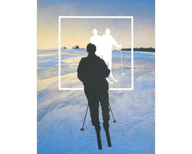 Геннадий Кацов СЛОВОСФЕРА №16 Олег Васильев, «Белые лыжники» (1990)