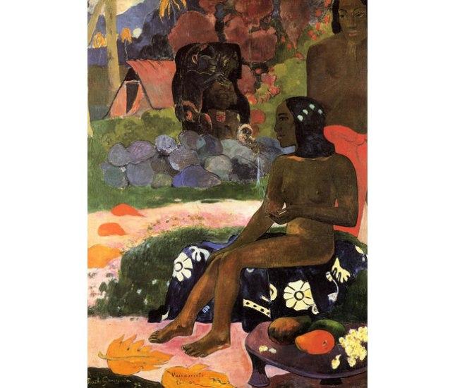 Геннадий Кацов СЛОВОСФЕРА №45 Поль Гоген, «Её звали Вайраумати» (1892)