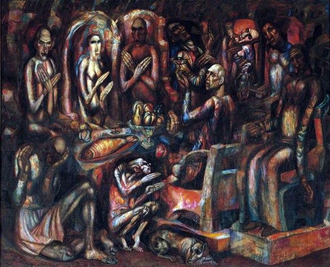 Геннадий Кацов СЛОВОСФЕРА №35 Павел Филонов, «Пир королей» (1913)