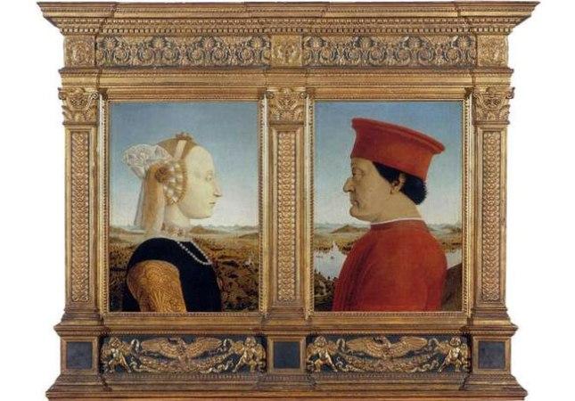 Геннадий Кацов СЛОВОСФЕРА  №89 Пьеро делла Франческа,«Портреты герцога Урбинского Федериго да Монтефельтро и его супруги Баттисты Сфорца» (1466)