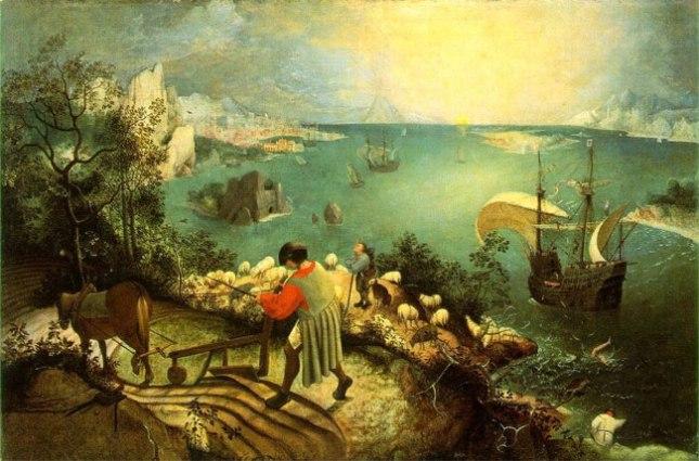 Геннадий Кацов СЛОВОСФЕРА №11 Питер Брейгель, «Падение Икара» (1500)