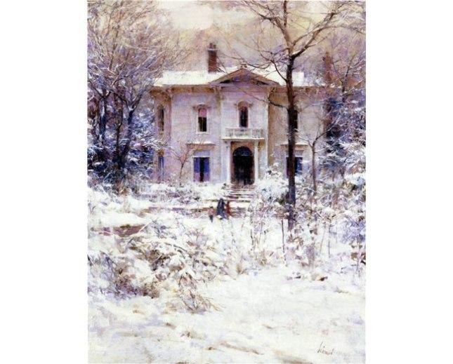 Геннадий Кацов СЛОВОСФЕРА №119 Ричард Шмид, «Викторианская зима» (1987)