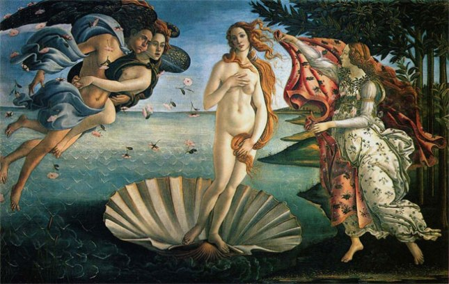 Геннадий Кацов СЛОВОСФЕРА №17 Сандро Боттичелли, «Рождение Венеры» (1482)