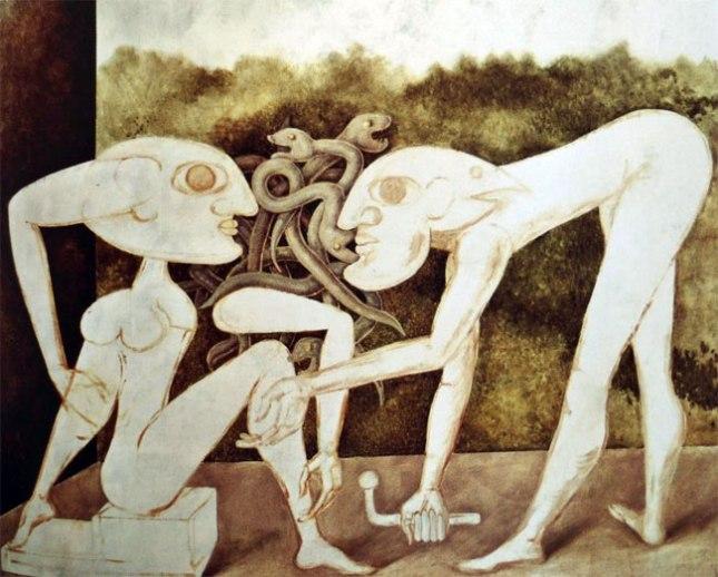 Геннадий Кацов СЛОВОСФЕРА №90 Виктор Браунер, «Палладист» (1943)