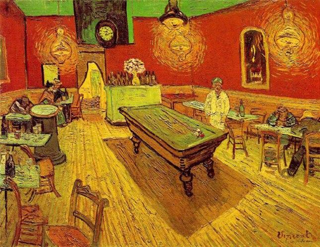 Геннадий Кацов СЛОВОСФЕРА №6  Винсент Ван Гог, «Ночное кафе в Арле» (1888)