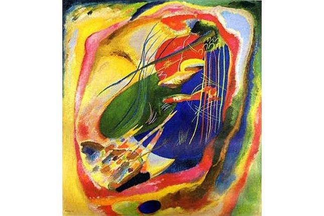 Геннадий Кацов СЛОВОСФЕРА №54 Василий Кандинский, «Картина с тремя пятнами» (1914)