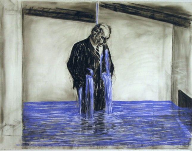 Геннадий Кацов СЛОВОСФЕРА №99 Уильям Кентридж, Рисунок к фильму «Стереоскоп» (1998-1999)