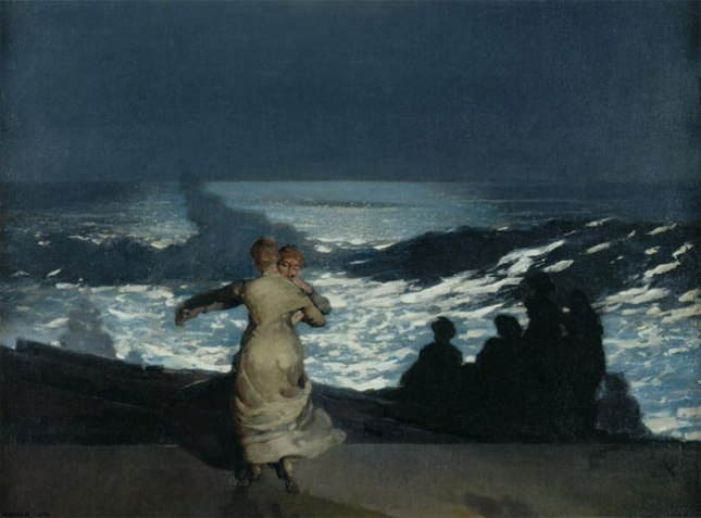 №74 Уинслоу Хомер, «Летняя ночь» (1890)