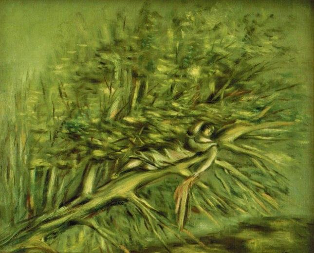 Геннадий Кацов СЛОВОСФЕРА Александр Тышлер, «Женщина на дереве» (1930-е)