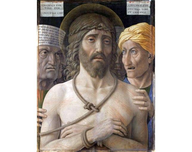 Геннадий Кацов СЛОВОСФЕРА №169 Андреа Мантенья, «Ecce Homo» (1500)