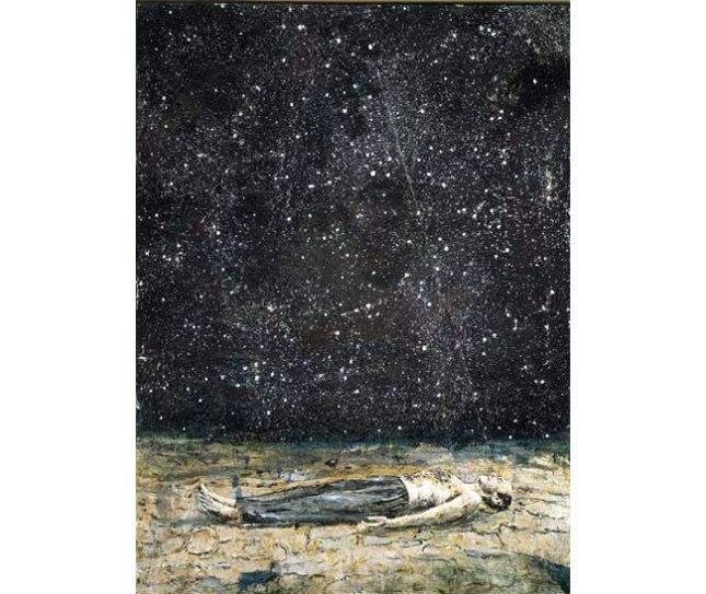 Геннадий Кацов СЛОВОСФЕРА Ансельм Кифер, «Звездопад» (1995)