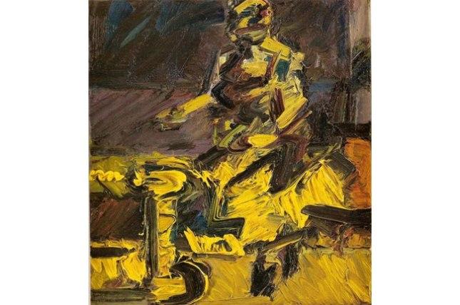 Геннадий Кацов СЛОВОСФЕРА №157 Франк Ауэрбах, «J.Y.M., сидящая в мастерской VI» (1931)