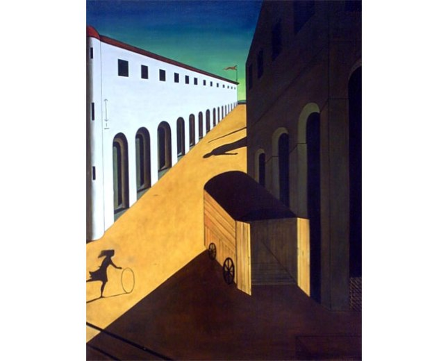Геннадий Кацов СЛОВОСФЕРА №166 Джорджо Де Кирико, «Меланхолия и мистерия улицы» (1914)
