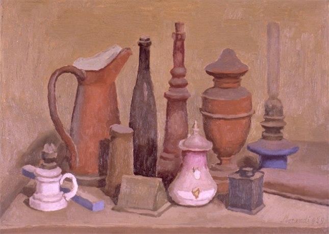 Геннадий Кацов СЛОВОСФЕРА №165 Джорджио Моранди, «Натюрморт» (1929)