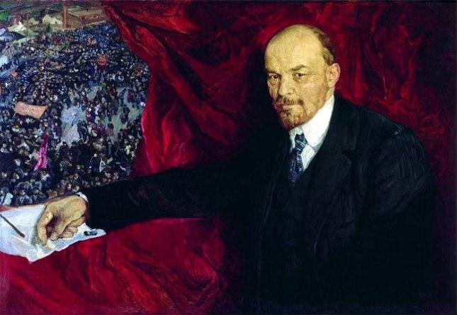 Геннадий Кацов СЛОВОСФЕРА №171 Исаак Бродский, «Ленин и манифестация» (1919)
