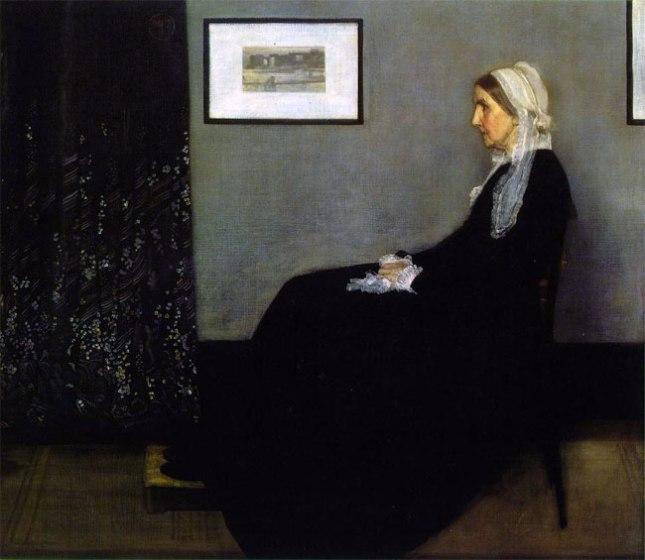 Геннадий Кацов СЛОВОСФЕРА №170 Джеймс Уистлер, «Композиция в сером и черном. Мать художника» (1871)