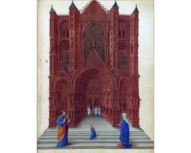 Геннадий Кацов СЛОВОСФЕРА №172 Жан Коломб, «Введение Марии во Храм. Великолепный часослов герцога Беррийского» (1485 – 1486)