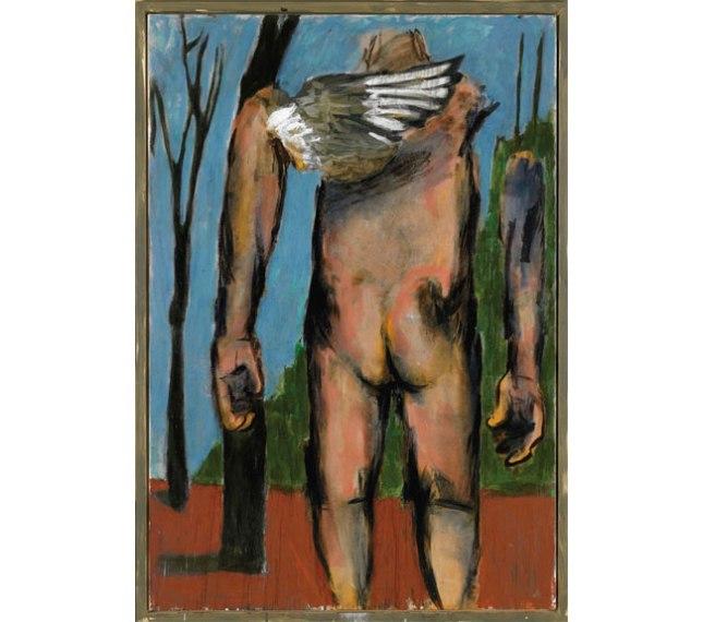 Геннадий Кацов СЛОВОСФЕРА №164 Маркус Люперц, «Обнаженный со спины» (2006)