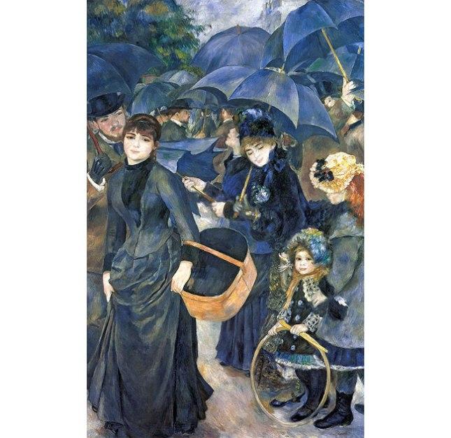 Геннадий Кацов СЛОВОСФЕРА №168 Огюст Ренуар, «Зонтики» (1879)