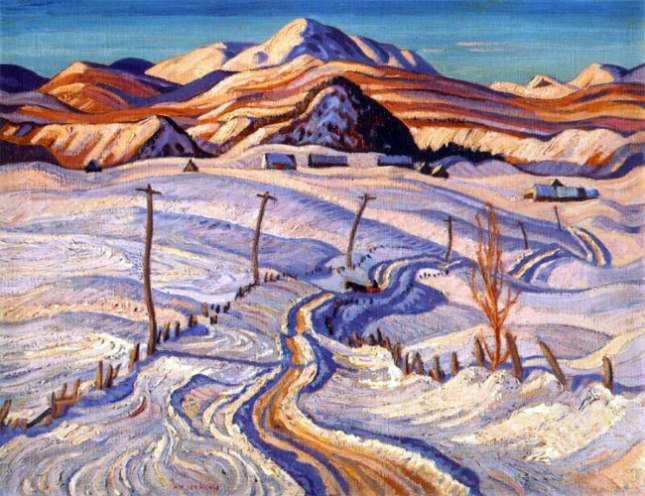 Геннадий Кацов СЛОВОСФЕРА №175 Александр Джексон, «Зимнее утро. Графство Шарльвуа» (1933)