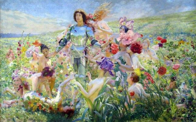 Геннадий Кацов СЛОВОСФЕРА №176 Жорж Антуан Рошгросс, «Рыцарь цветов» « (1894)