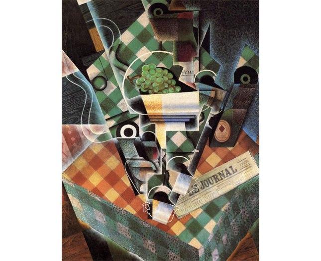 Геннадий Кацов СЛОВОСФЕРА №173 Хуан Грис, «Натюрморт с клетчатой скатертью» (1915)