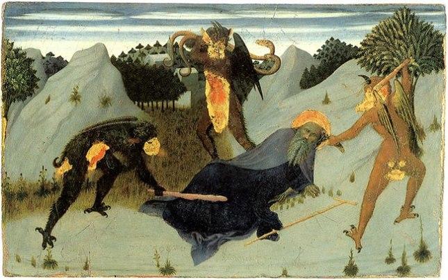 Геннадий Кацов СЛОВОСФЕРА №179 Сассетта, «Искушения Святого Антония. Антоний, побиваемый дьяволами» (1423 – 1426)
