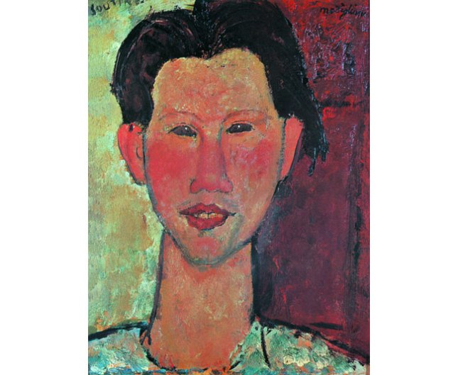 Amadeo Modigliani, Portrait of Chaim Soutine