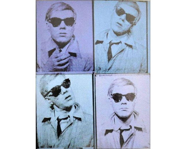 Andy Warhol, The first Self-Portrait