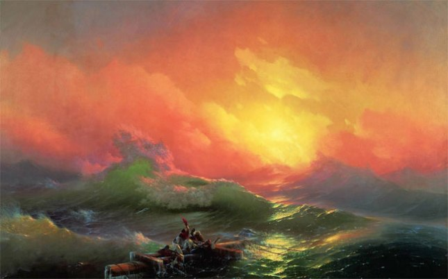 Ivan Aivazovsky, The Seventh Swell