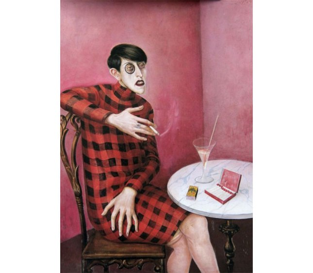 Otto Dix, Portrait of the Journalist, Silvie von Harden